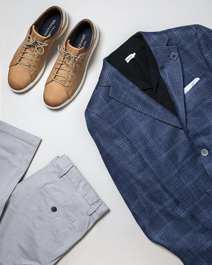 business casual set