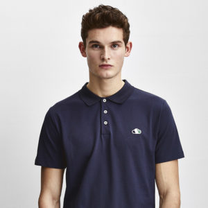 Good people polo blauw