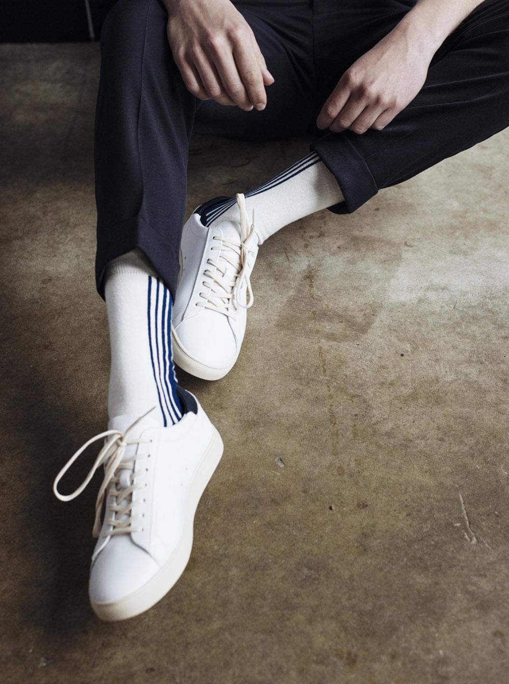 City chic stripe socks