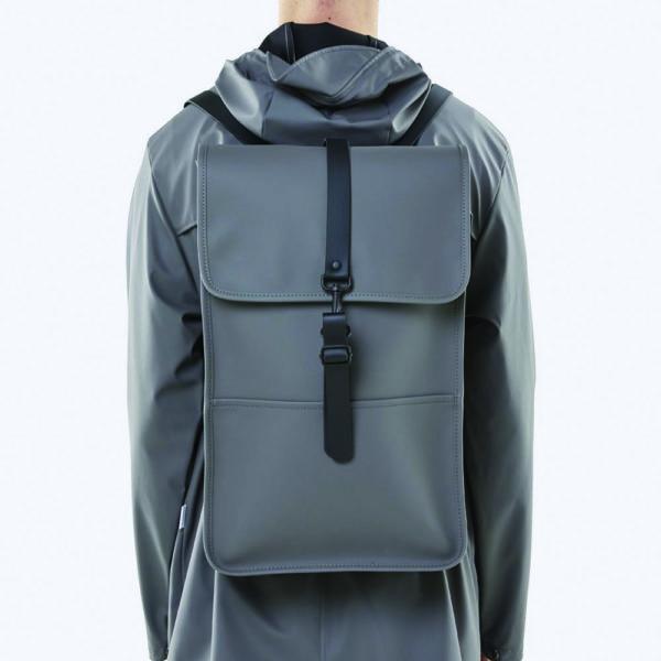 rains backpack grey